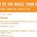 Gerber Gear - PitchEngine newsroom