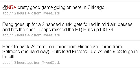 Chicago Bulls on Twitter