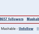 Mashable Google Buzz followers
