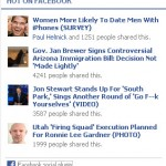 The Huffington Post Hot on Facebook module