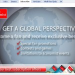 The Economist - Facebook subscribe tab