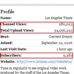 LA Times YouTube Channel