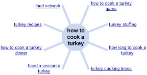 Google Wonder Wheel - how to cook a turkey