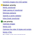 Reuters Google Page Speed suggestions
