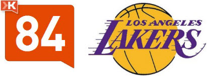 Los Angeles Lakers logo - Klout score
