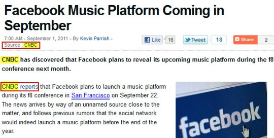 Tom's Guide Facebook Music article