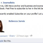 Journalists on Facebook: Official Pages or Subscribe Button on Regular Profiles?