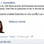Rebecca Jarvis CBS News on Facebook