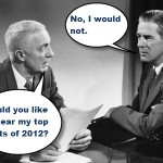 two men talking in an office