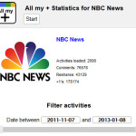 NBC News Google+ engagement