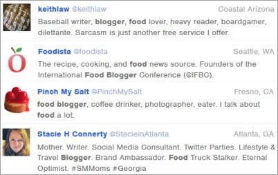Followerwonk Twitter bio search