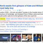Google News featured article